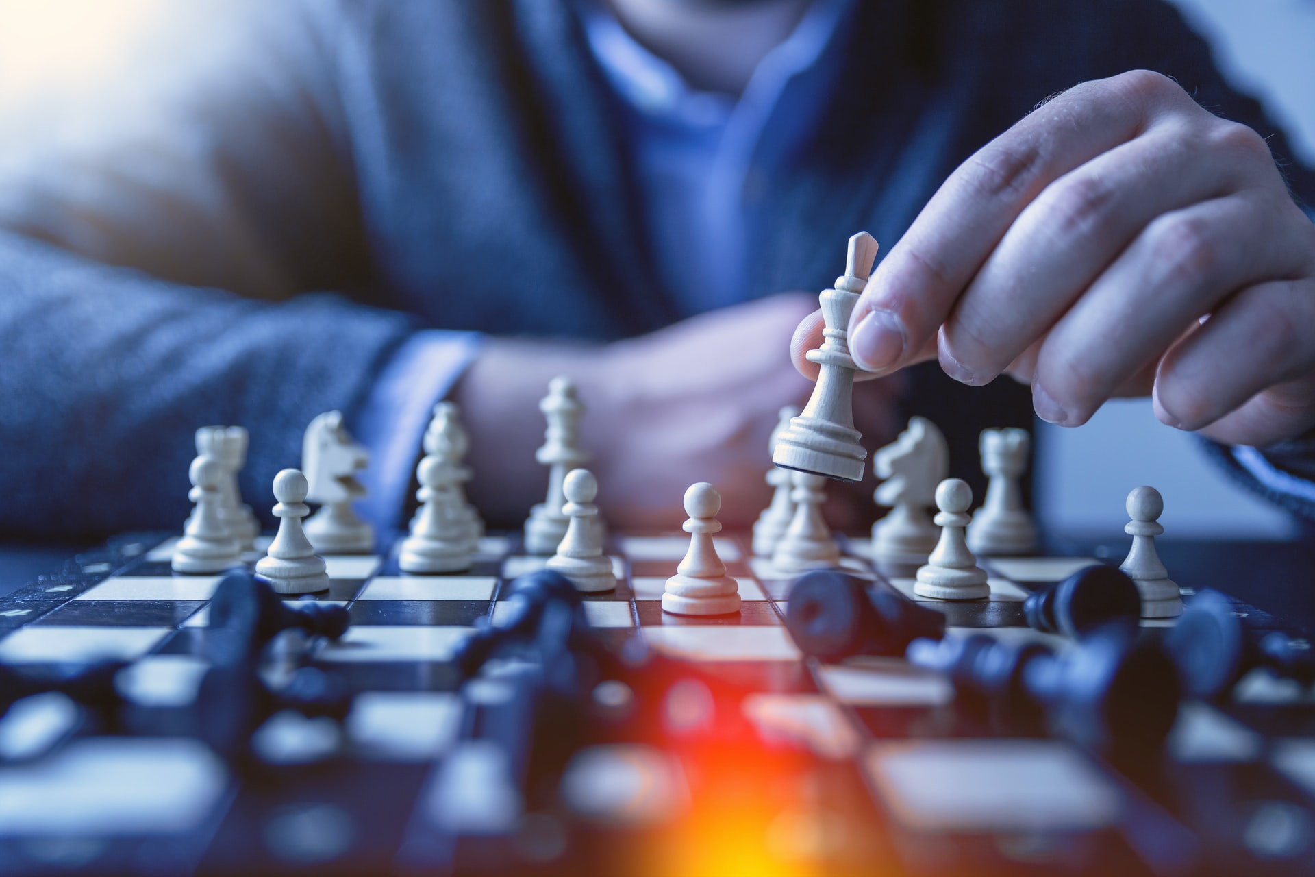 AI Roots Scenario planning and chess from Unsplash Jeshoots
